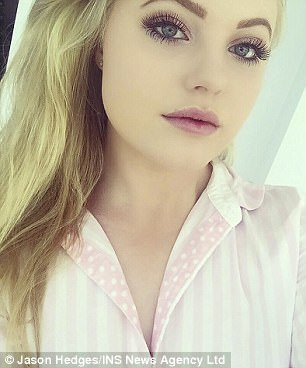 Ella Popely, 18, was behind the wheel when her Fiat collided with an Audi on her way to Burgess Hill Girls' School in West Sussex in December