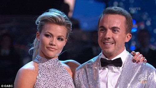 The 31-year-old (pictured with dance partner Witney Carson) spoke about suffering memory loss on Monday's Dancing With The Stars in which he is competing