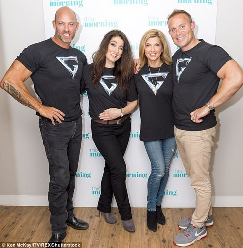 Back again!Gladiators fans will undoubtedly be overjoyed to see stars of the show reuniting to ring in 25 years since its launch, with James Crossley, Diane Youdale, Helen O'Reilly and Warren Furman (left-right) appearing on Tuesday's Lorraine to celebrate
