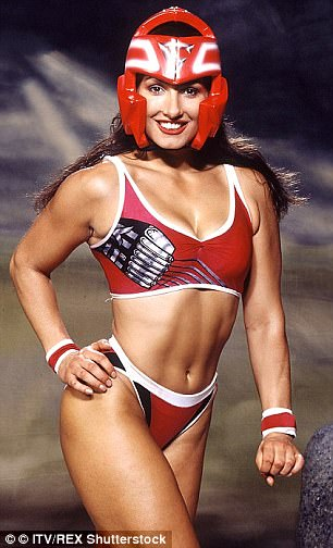 Fond memories: Despite injuring herself in 1996 and being forced to give up her place on the show, Diane admitted it was 'incredible' starring on Gladiators
