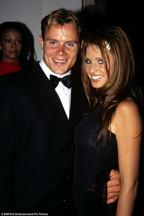 Way back when: Warren (pictured in 1998) was previously engaged to Katie Price at the height of their fame