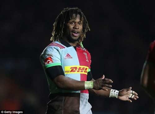 Marland Yarde has been told to leave Harlequins before his negative influence becomes toxic
