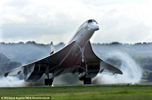 Iconic: Concorde was created under a 1962 Anglo-French treaty, but that almost collapsed after a spat betweenCharles de Gaulle andHarold Wilson