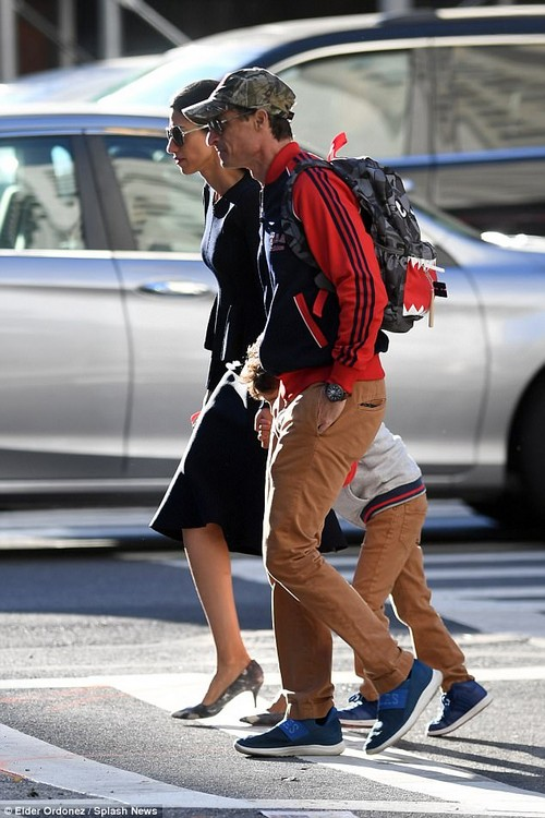 Parents: Huma Abedin and Anthony Weiner were pictured together earlier this month for the first time since he was sentenced for sexting an underage girl