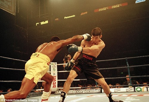 'Simply the Best' had briefly retiredbut returned in the hope of winning back his world title