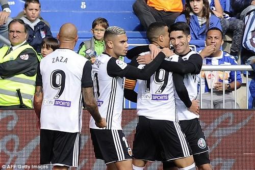 Rodrigo's winner ensured that Valencia have won six consecutive matches in La Liga