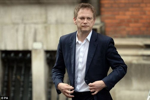 Grant Shapps (pictured) fell out with Mrs May in 2014 when he was party chairman after he struck two of her closest aides off the parliamentary candidates list