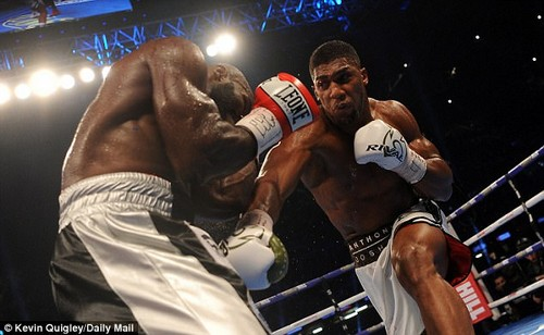 Anthony Joshua has been criticised by potential heavyweight opponent Joseph Parker