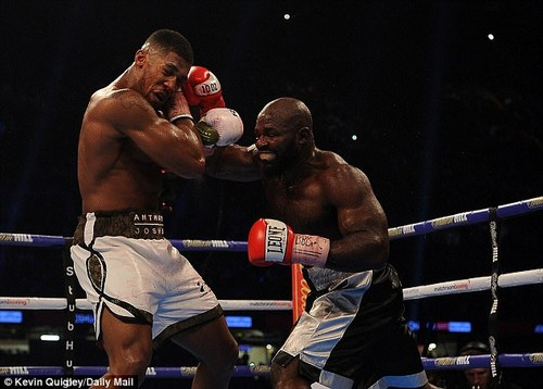 Takam put in a spirited performance despite also suffering cuts and injuries to both his eyes
