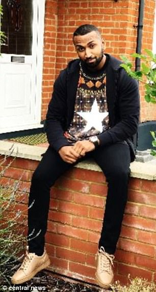 Adam Ali (pictured) escaped on bail after police searched his home and recovered 19 handgun bullets along with an iPhone 6 containing more than 1,000 videos