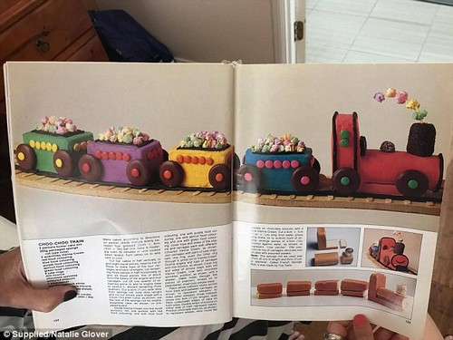Choo-choo train:Australians are taking a trip down memory lane by reminiscing their most cherished childhood birthday cake their parents made them