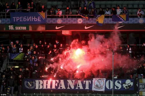 Bosnia needed to win in Tallinn and for Greece to fail to beat minnows Gibraltar at home - the Greeks won their game 4-0
