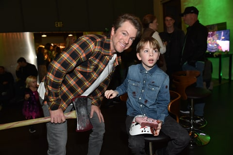 Joe Don Rooney of Rascal Flatts attends the Xbox Halloween Gaming Event hosted by Brad Paisley and Kimberly Williams-Paisley at Ruby on October 27, 2017 in Nashville, Tennessee.