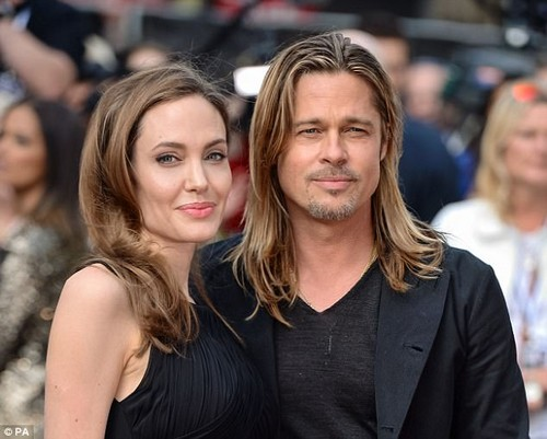 Pitt's estranged wife Angelina Jolie (together in 2013) also claims to have been harassed by Weinstein in the late 1990s. She said the incident drove her to never work with him again
