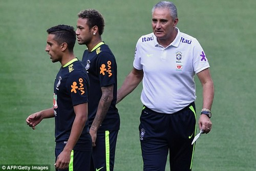 Marquinhos is one of three Paris Saint-Germain players in the Selecao squad for the game