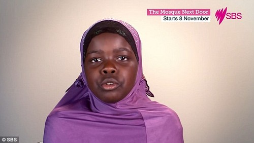 This girl told an SBS documentary on a Brisbane mosque a hijab stopped her getting head lice