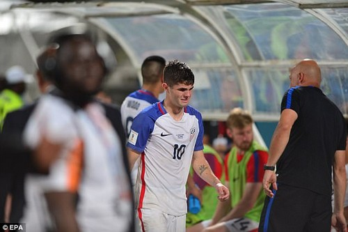 Christian Pulisic scored for the States but it proved too little, too late in Couva