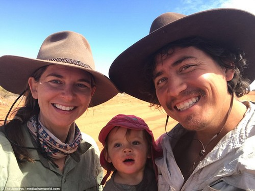 Always time for a selfie! The adventurous trio have chronicled their journey with a photo diary, which they share online