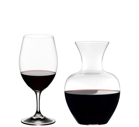 Apple decanter gift set from Riedel
