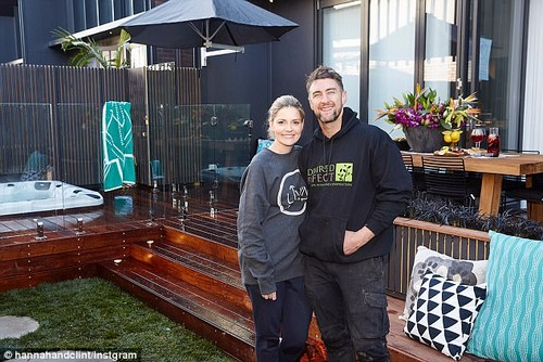 'We'd live off lollies and coffee!'The Block's Hannah Amos has revealed she and her husband Clint had were living off an unhealthy diet and irregular meals during filming