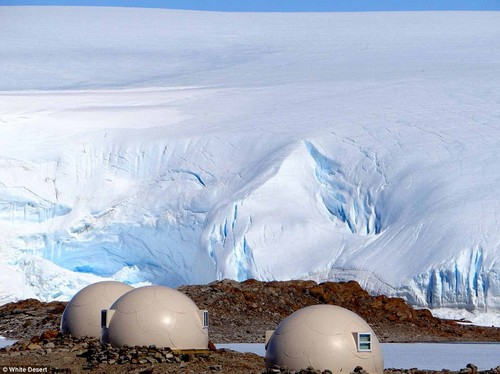 For £46,000 for an eight-day trip, polar explorer Patrick Woodhead takes wealthy clients on luxury safaris to Antarctica and the South Pole with his company White Desert.State-of-the-art sleeping pods are made from strong, insulated fiberglass panels and even in high winds, they remain very quiet