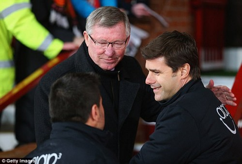 Pochettino has a lot of respect for Ferguson and admired his achievements as a manager