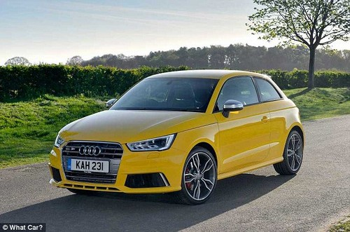 The S1 is Audi's dinkiest hot hatchback. At £26,640 it's more expensive than an entry-level BMW 3 Series