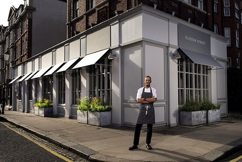 Capital one: The judges declared Chelsea's Elystan Street as London's Restaurant of the Year