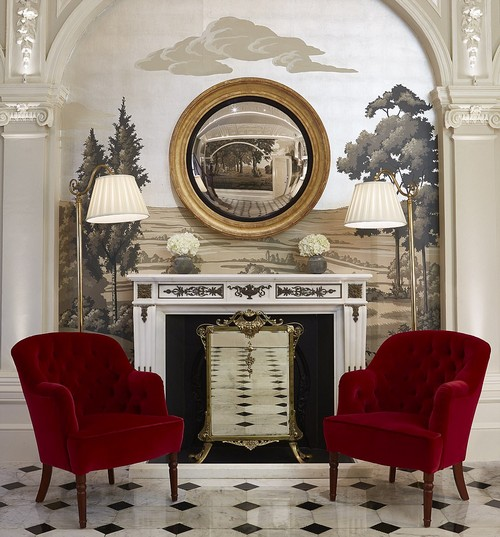 Classy and cool:Originally billed as the world's first hotel to have central heating in every room, it was a favourite of the Queen Mother and was the location for her last public appearance