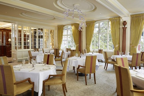Eat your heart out! The Goring's dining room is known for its immaculate presentation and strong, formal service