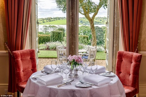 Luxe:Michelin-starred food, antique furnishing and designer fabrics set the tone at this 19th-century former hunting lodge