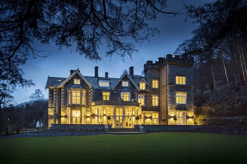 Romantic: For a couples' getaway, entrancing gothic mansion The Forest Side Hotel in the Lake District is unbeatable