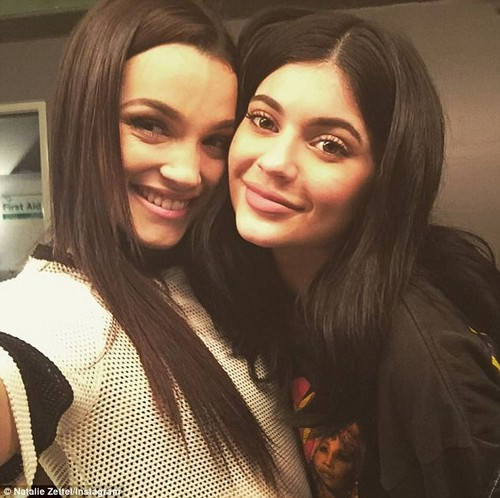 Close as can be: Natalie took to Twitter in August to share this photo in honor of her cousin Kylie Jenner's 20th birthday