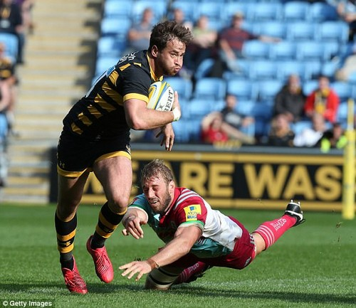 Danny Cipriani suffered another blow in September when he was injured against Harlequins