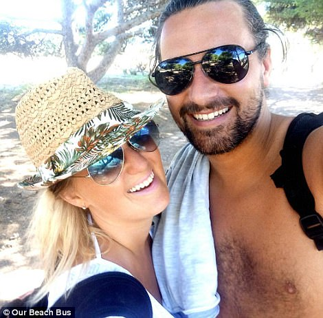The couple originally met in 2014 in Dubai where David was employed as a design technology teacher and Amy was working in recruitment for an oil and gas company