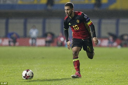 Eden Hazard will be central to Belgium's hopes of progressing far at the World Cup