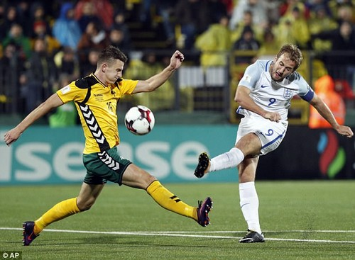 Tottenham's Harry Kane will be central to England's hopes of doing something out in Russia