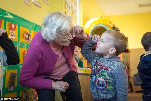 Joyce Stackhouse struggles to remember what she has done or people she sees but her weekly visit toHighdale Day Nursery helps her enormously