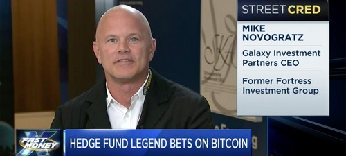 Michael Novogratz, Puts Crypto-Hedge Fund on Hiatus