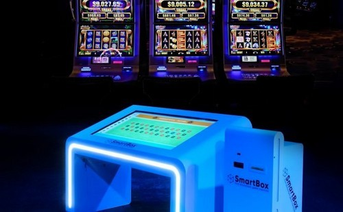 Blockchain Gambling Machine Placed in the Land-based Casino