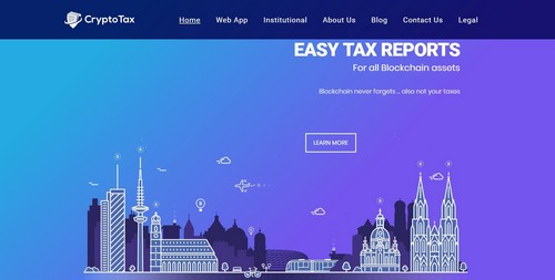 CryptoTax – Easy Tax Reports For All Blockchain Assets