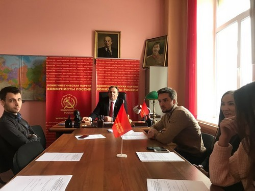 Ruslan Khugaev, the Deputy Chairman of Suraikin's party, the Communists of Russia