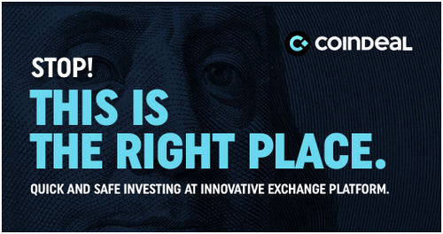 CoinDeal – A Crypto Exchange Platform with 16 Tradable Coins
