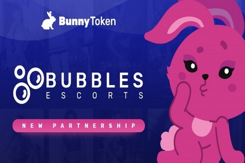 London's Bubbles Escorts Partners With BunnyToken In A Smart Move To Expand Its Payment Options