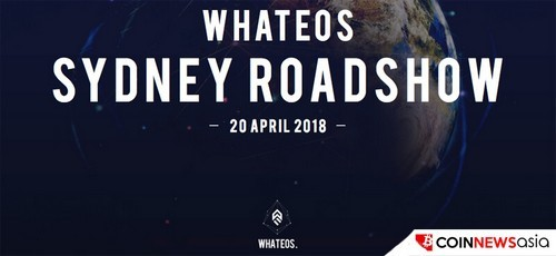 WhatEOS Holds Successful Sydney Roadshow, Look towards Melbourne