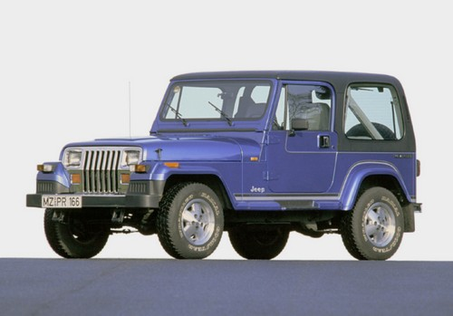 Jeep Wrangler - это потомок того самого джипа.