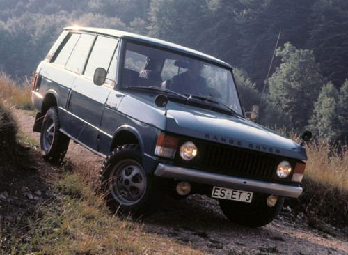 Не уходящее в прошлое легенда - Range Rover.