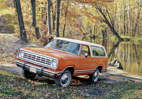 Сегодня этот автомобиль, Dodge Ramcharger, почти забыли, а зря.