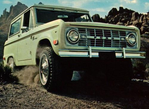 Самый особенный американец - Ford Bronco.