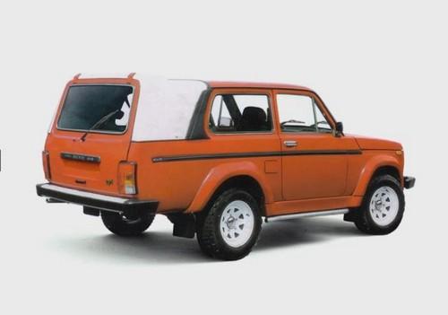 Удлиненная Lada Niva Special для Чехии.
